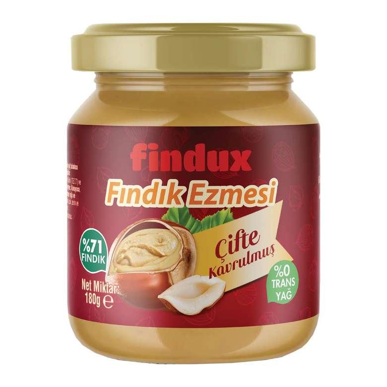 Findux Çifte Kavrulmuş Fındık Ezmesi 180 G