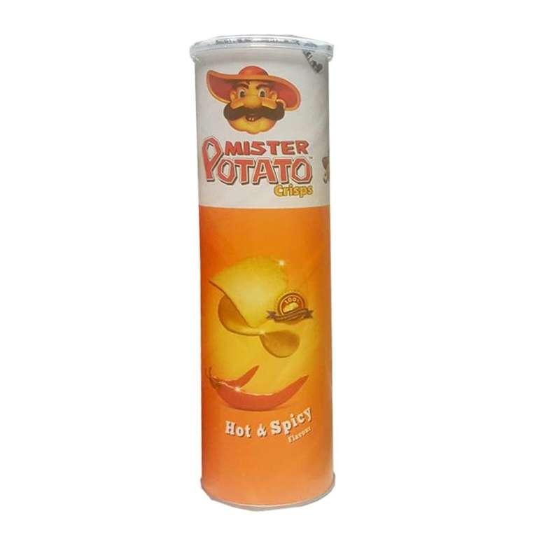Cips Patates Hot & Spicy 130 G Mr Potato