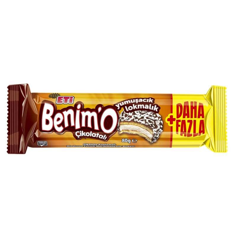 Eti Benimo Çikolatalı Marshmallow Bisküvi 80g