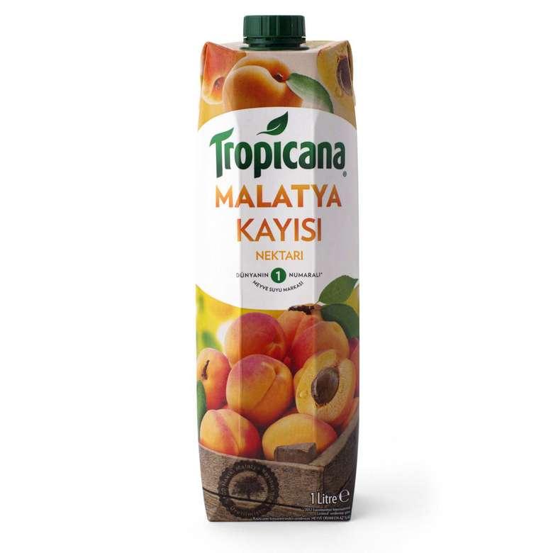 Tropicana Meyve Nektarı Kayısı 1 L