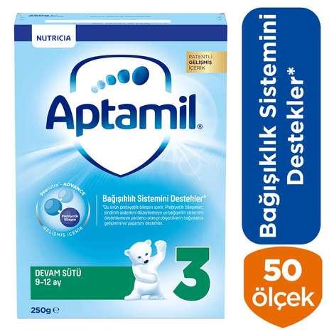 Aptamil 3 Bebek Maması Biberon 250g