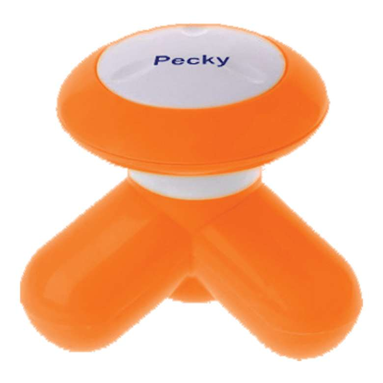 Pecky Mini Masaj Aleti - Turuncu