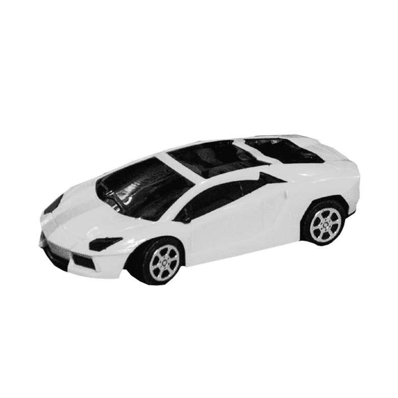 Oyuncak Pilli Uzaktan Kumandalı Araba - Beyaz