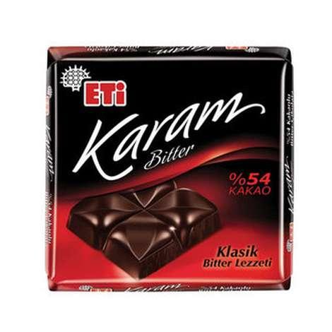 Eti Karam Çikolata %54 Bitter 20 G