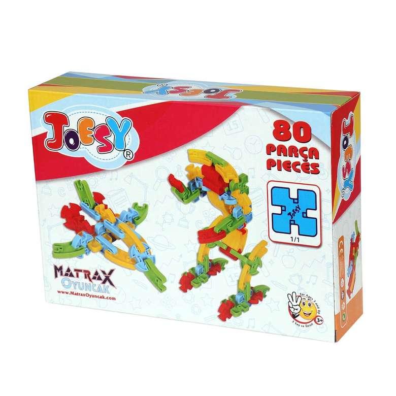 80 Parça Eğitici Oyuncak - Mavi