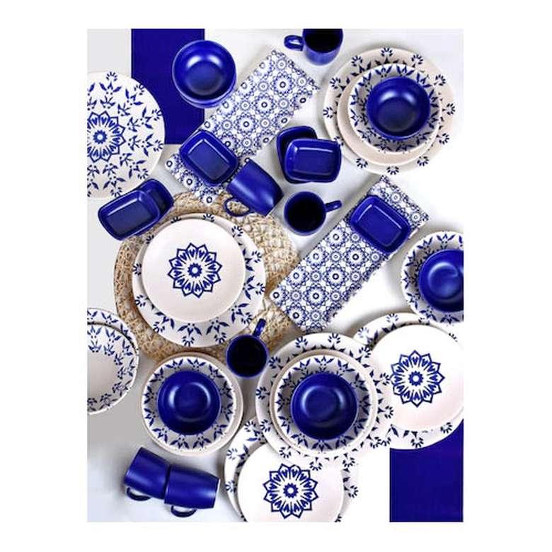 Keramika 6 Kişilik Yemek Takımı 38 Parça