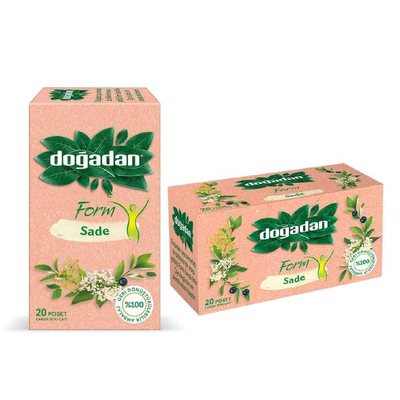 Doğadan Form Sade Bitki Çayı 20 Poşet