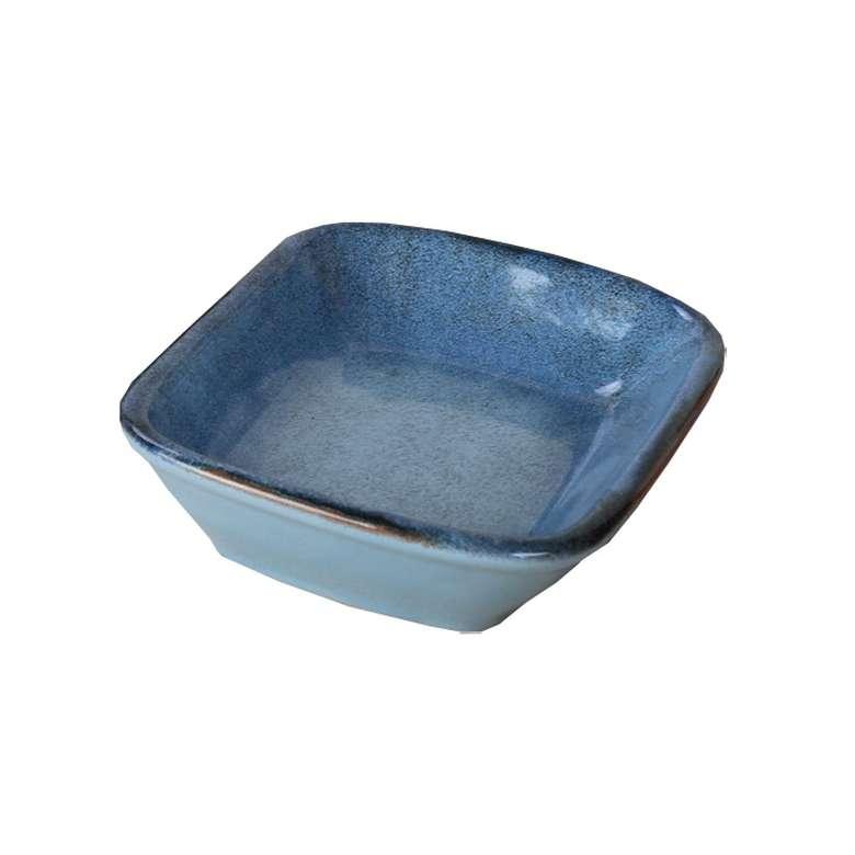 Keramika Çerezlik Fileli - Mavi