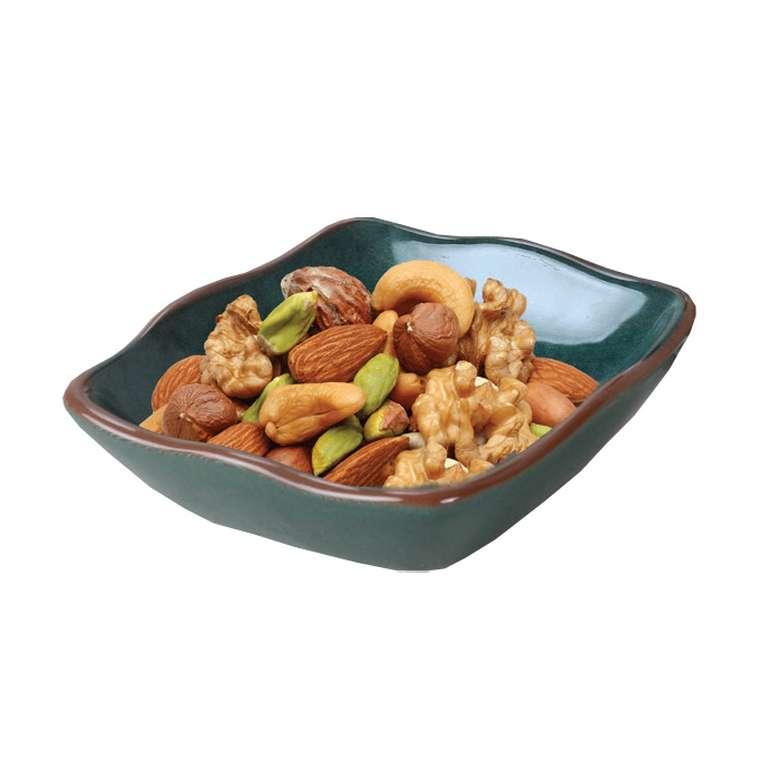 Keramika Çerezlik Fileli - Yeşil