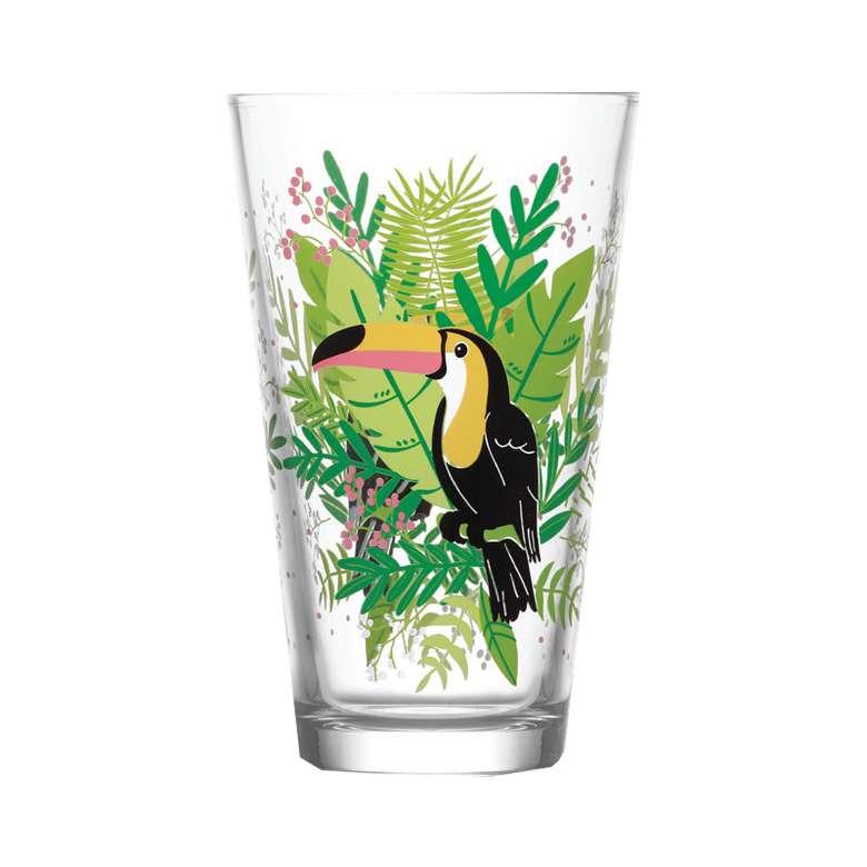 Lav 3'lü Su Bardağı - Yeşil