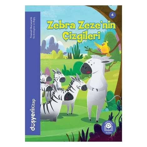 Zebra Zeze'nin Çizgileri - Düşyeri Yayınları