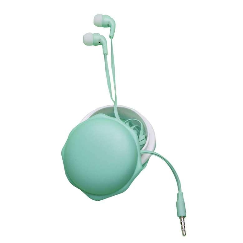 Go Smart Makaron Kulaklık - Yeşil