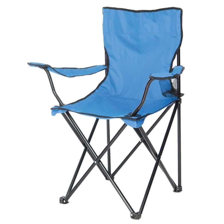 Katlanabilir Kamp Sandalyesi - Mavi
