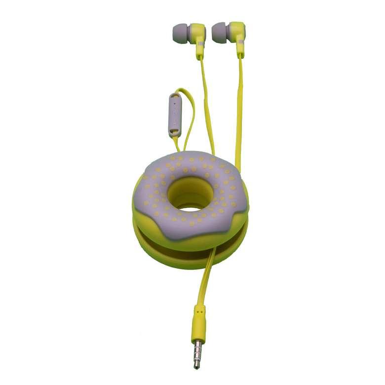 Go Smart Şekilli Kulaklık - Sarı