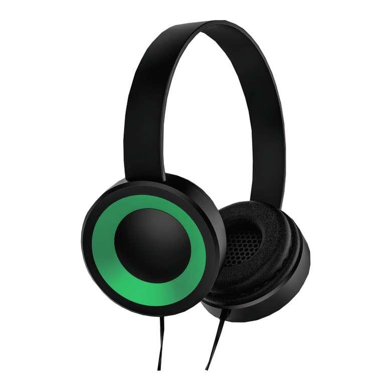 Go Smart Kablolu Rubber Kulaklık - Yeşil