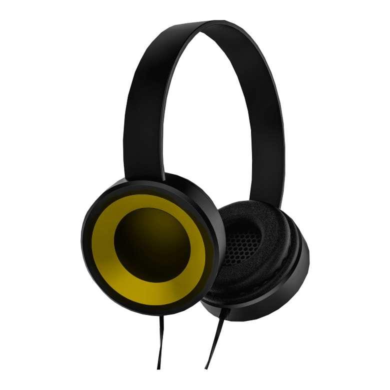 Go Smart Kablolu Rubber Kulaklık - Sarı