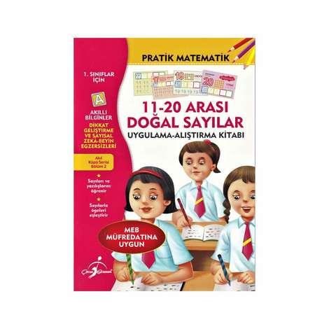 Akıllı Bilginler Pratik Matematik  Kitabı - 11-20 Arası Doğal Sayılar