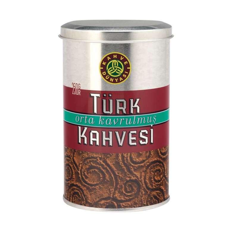 Kahve Dünyası Türk Kahvesi Teneke Kutu 250 G
