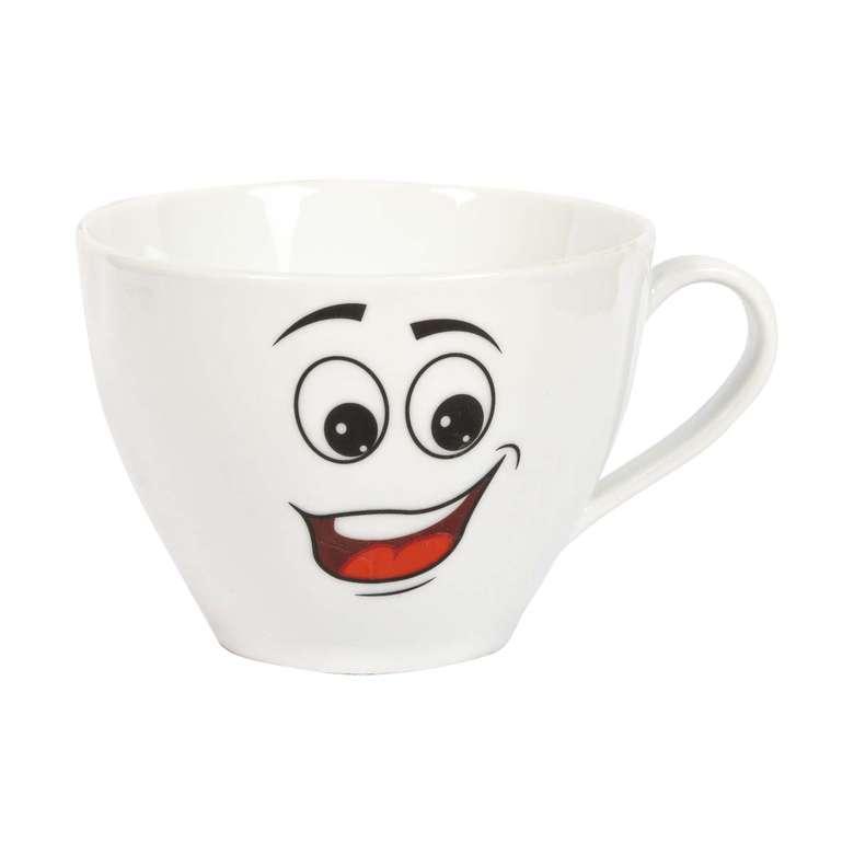 Porselen Kupa / Mutlu Yüz Emoji