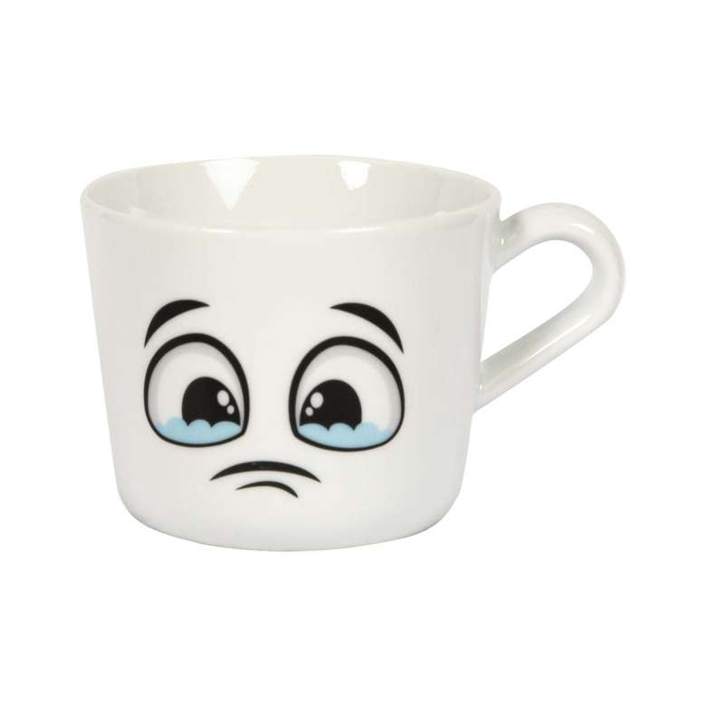 Porselen Kupa / Yalvaran Yüz Emoji