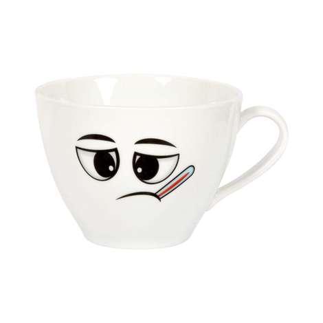 Porselen Kupa / Hasta Yüz Emoji