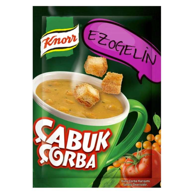 Çorba Çabuk Ezogelin Knorr