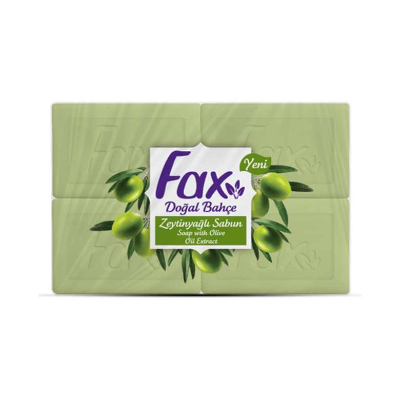 Fax Banyo Sabunu Zeytinyağlı 4x150 Gr