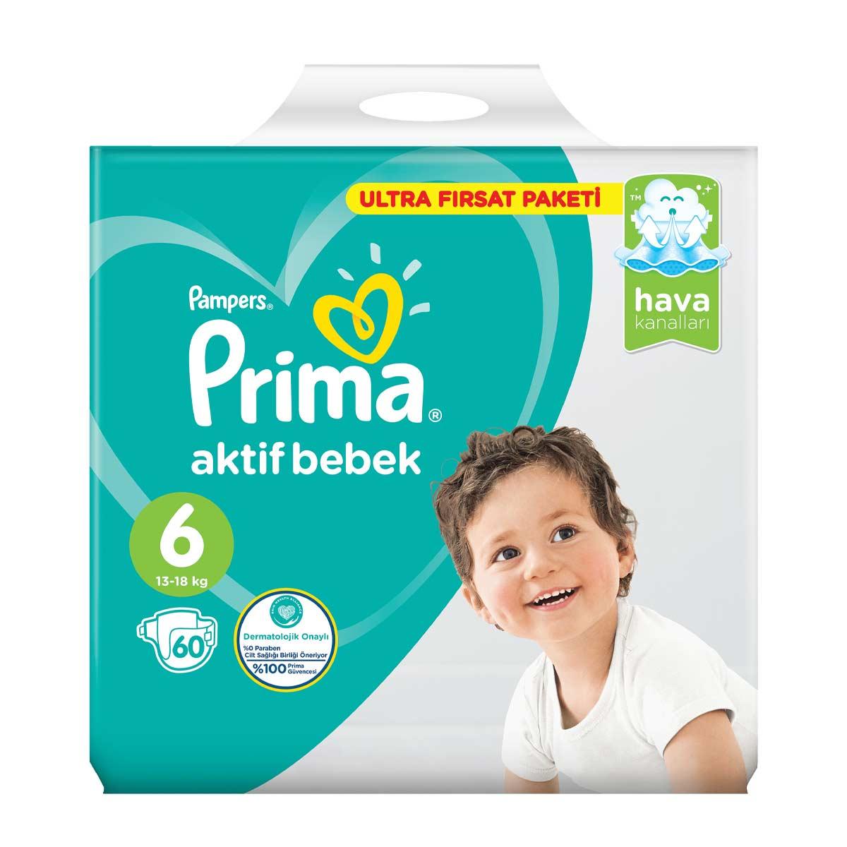 Prima Cocuk Bezi Extra Large 60 Li A101