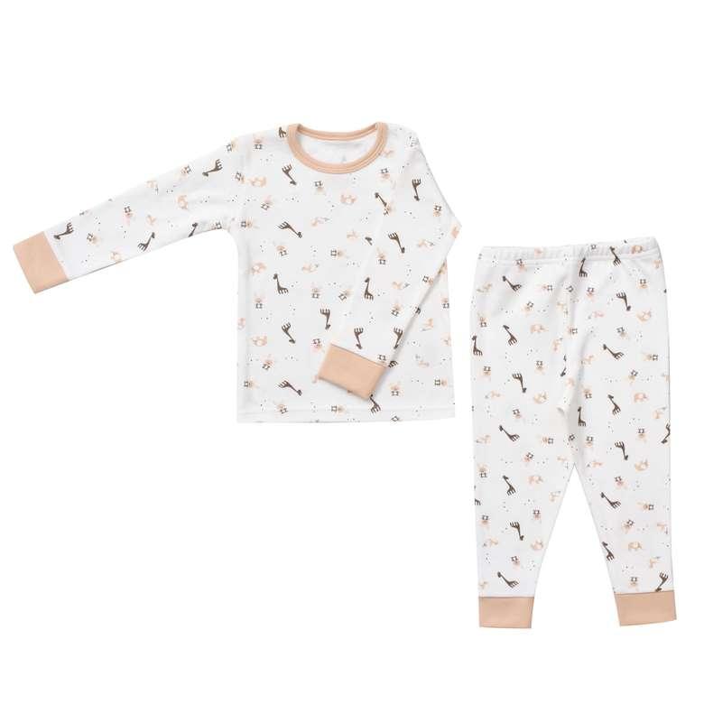 Bebek Pijama Takımı - Kahverengi  9 - 12 Ay