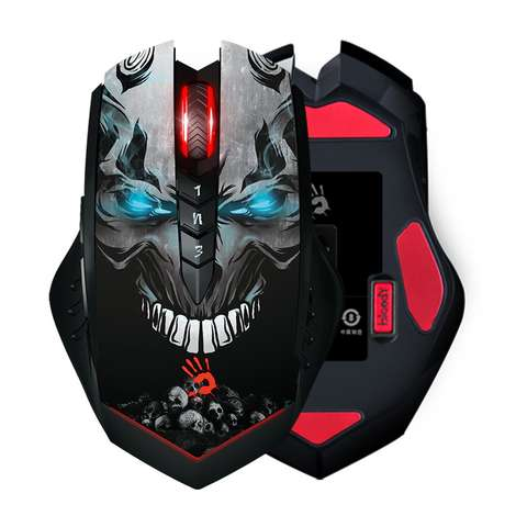 Bloody R80 Ghost LK 4000 CPI-ISW Kablosuz Gaming Mouse