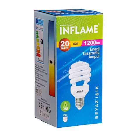 Inflame Enerji Tasarruflu Ampul 20 W