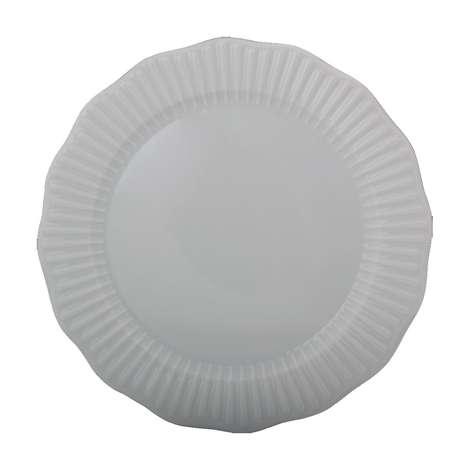 Porland Tekli Porselen Düz Tabak 20 Cm