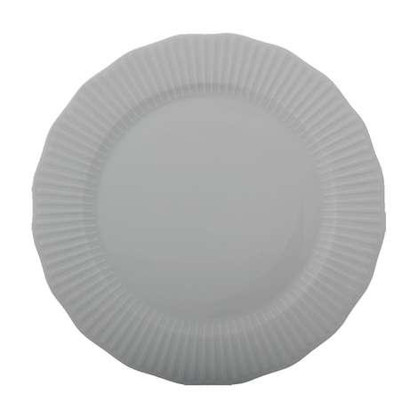 Porland Tekli Porselen Düz Tabak 24 Cm