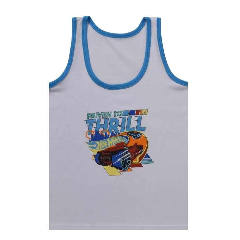 Lisanslı Erkek Çocuk Atlet, Mavi, 11-12 Yaş