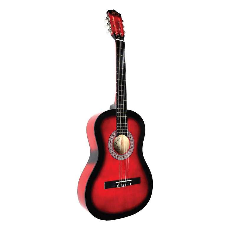 """Jwin CG-3801 38"""" Klasik Gitar - Kırmızı"""