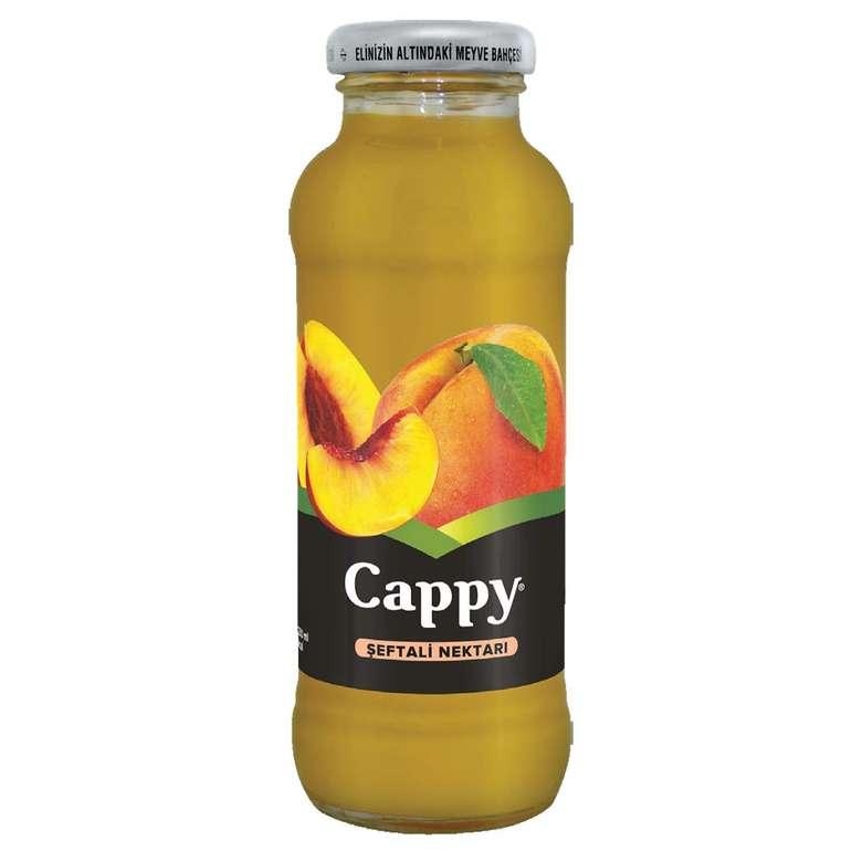 Cam Cappy Meyve Nektarı Şeftali 250 Ml