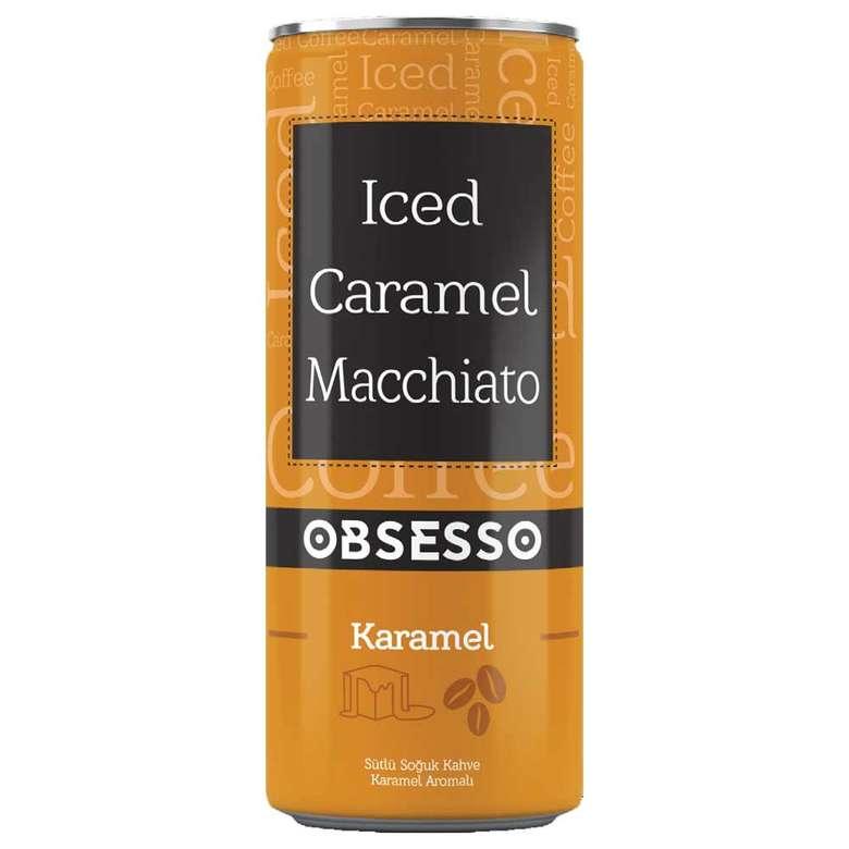 Obsesso Soguk Kahve Iced Caramel Macchiato 250 Ml