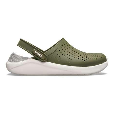 Crocs 204592-37p Lite Erkek, Yeşil, 41-42