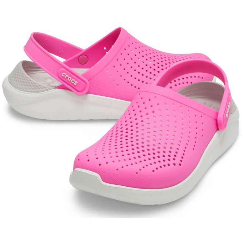 Crocs 204592-6QVT Lite Kadın - Pembe 37-38