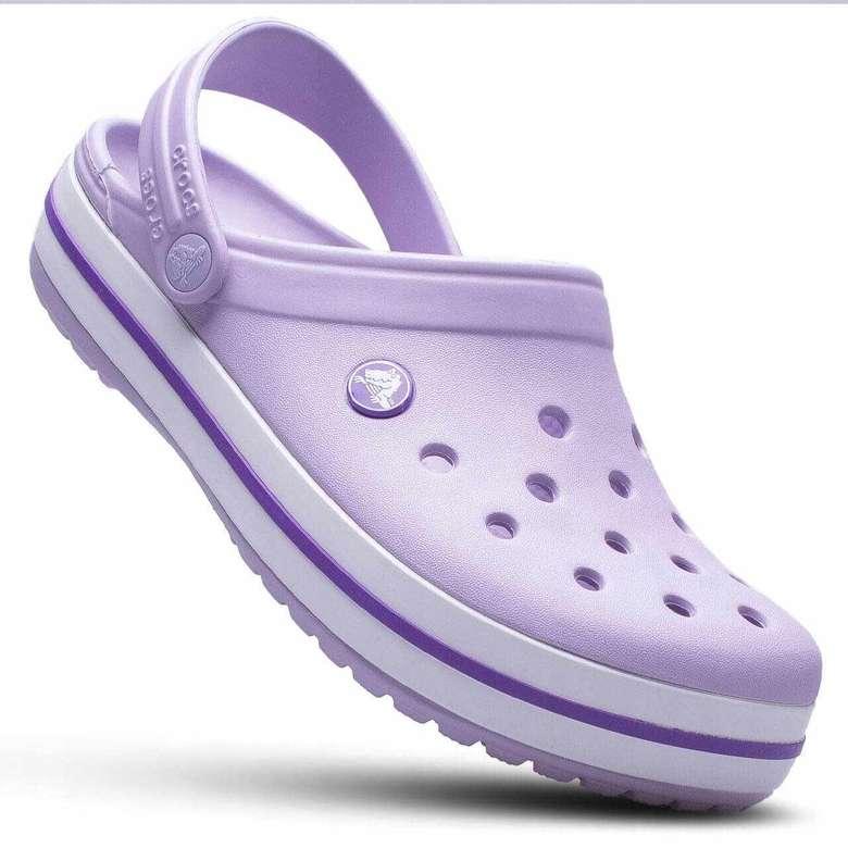 Crocs Erkek/Kadın Terlik Model, Mor, 36-37