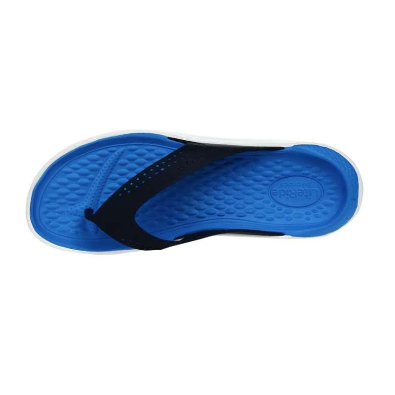 Crocs 205182-462 Lite Erkek, Mavi, 43-44