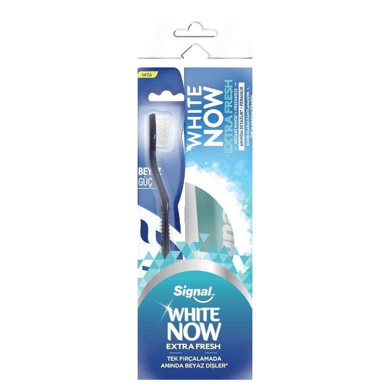 Signal White Now Extra Fresh Diş Macunu 75ml + Diş Fırçası
