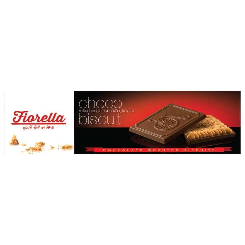 Fiorella Bisküvi Bitter/sütlü Çikolatalı 102 G