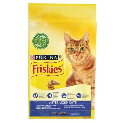 Friskies Somonlu Kısır Kedi Maması 10 kg