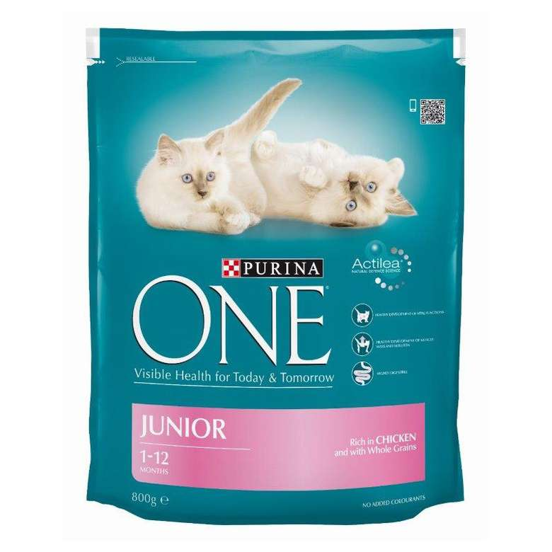 Purina One Junior 1-12 Ay Tavuklu Kedi Maması 800gr