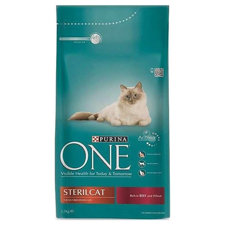 Purina One Etli Kısır Kedi Maması 1.5kg