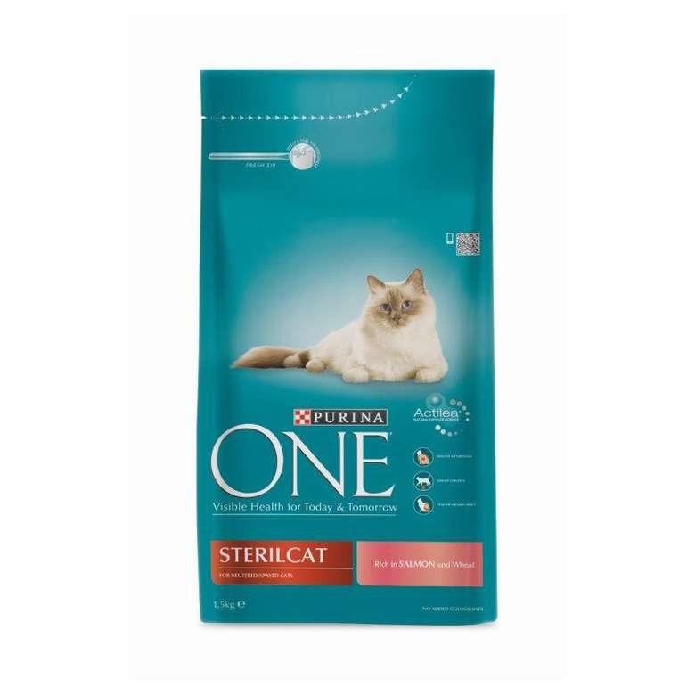Purina One Somonlu Kısır Kedi Maması 1.5kg