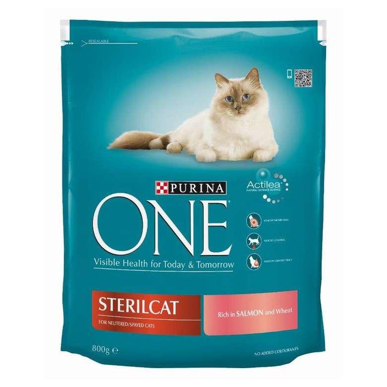 Purina One Sterilised  Somonlu Kedi Maması 800g