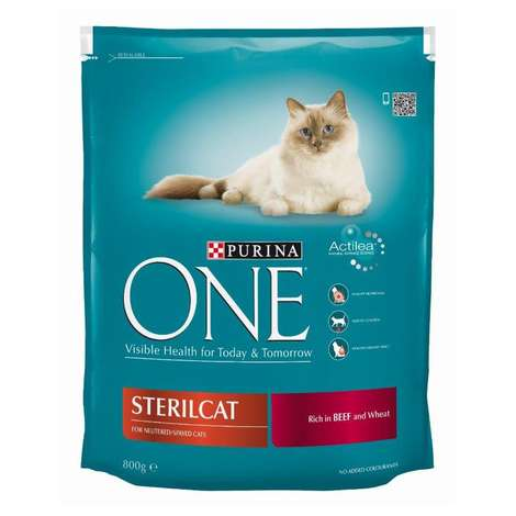 Purina One Sterilised Etli Kedi Maması 800gr