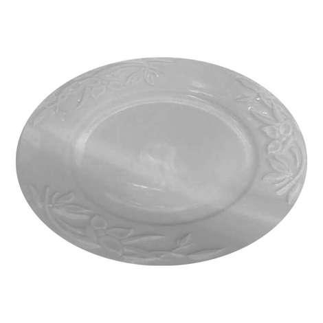Güral Porselen Gül Desenli Servis Tabağı